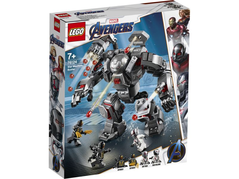 LEGO Super Heroes 76124 War Machine Buster