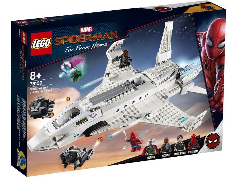 LEGO Super Heroes 76130 Starkstraaljager en de droneaanval