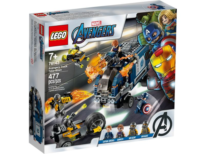 LEGO Super Heroes 76143 Avengers vrachtwagenvictorie