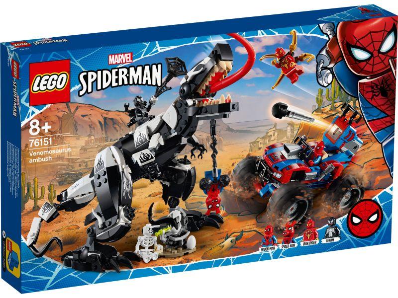 LEGO Super Heroes 76151 Venomosaurus hinderlaag