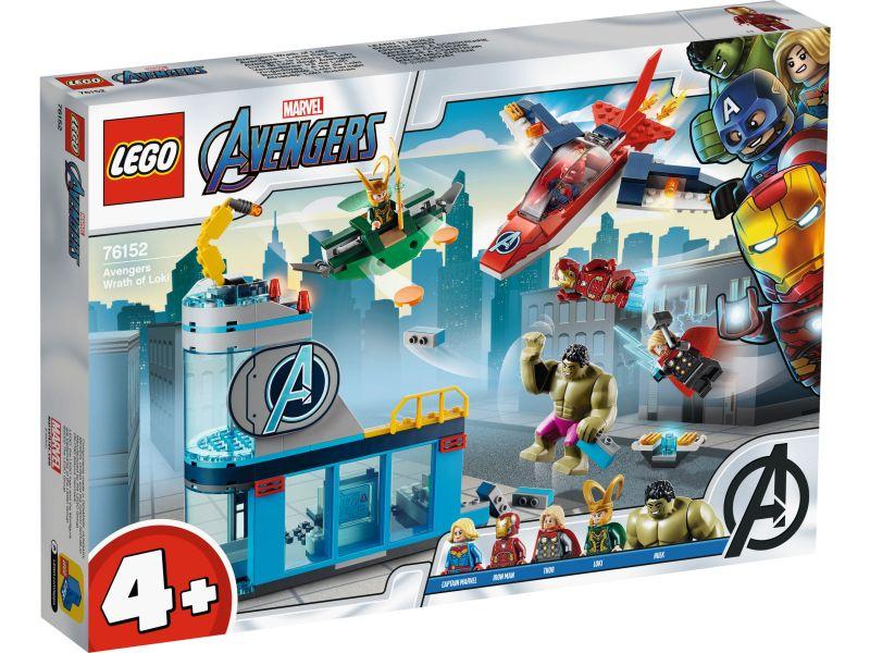 LEGO Super Heroes 76152 Avengers Wraak van Loki