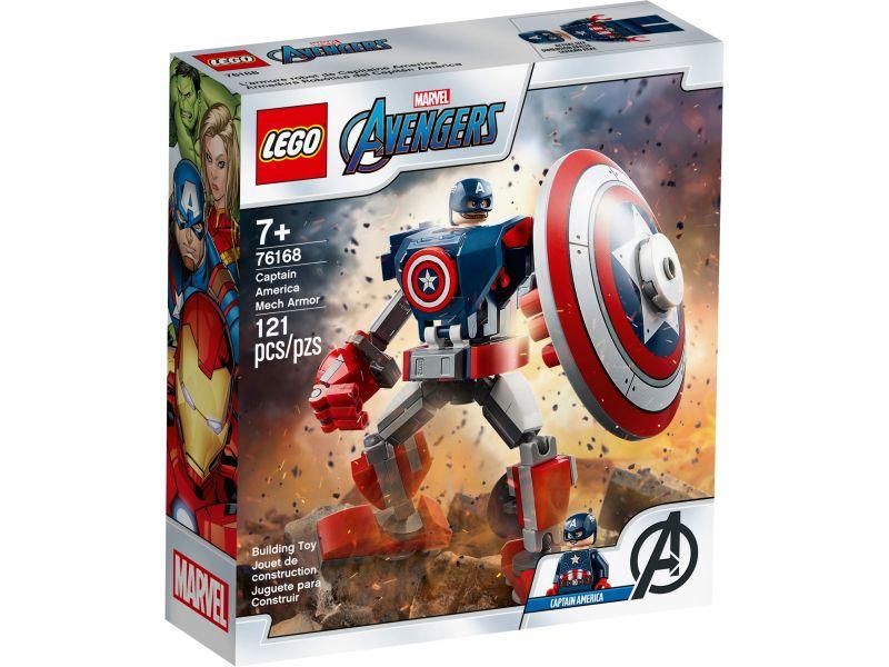 LEGO Super Heroes 76168 Captain America mechapantser