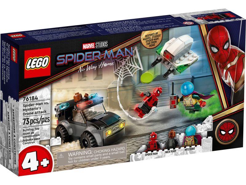LEGO Super Heroes 76184 Spider-Man vs. Mysterio droneaanval