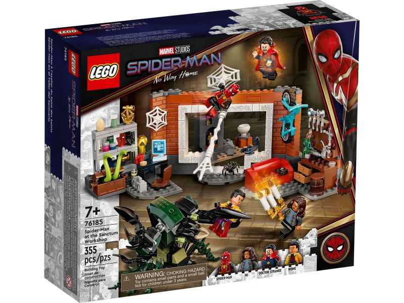 LEGO Super Heroes 76185 Spider-Man bij de Sanctum uitvalsbasis