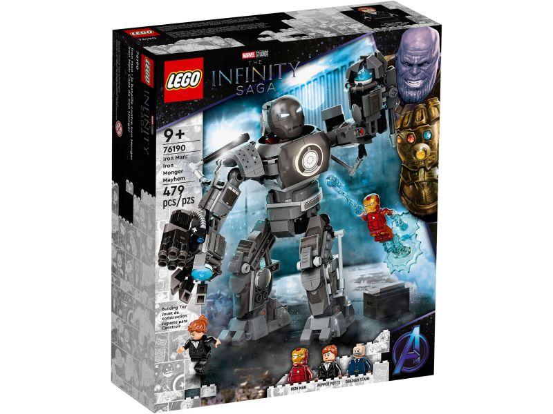 LEGO Super Heroes 76190 Iron Man: Iron Monger Mayhem