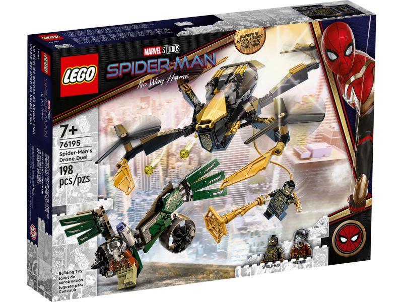 LEGo Super Heroes 76195 Spider-Man's droneduel