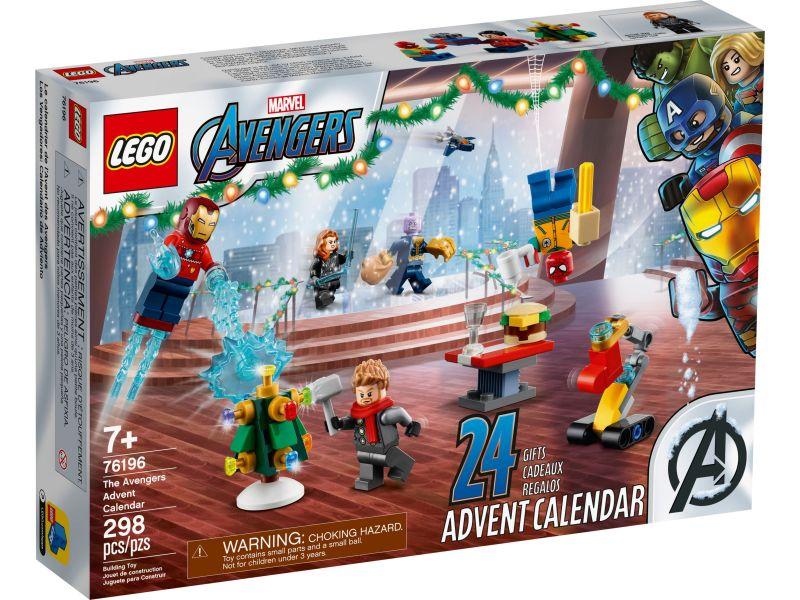 LEGO Super Heroes 76196 De Avengers adventkalender