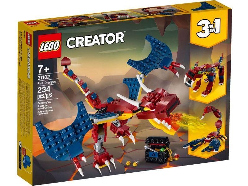 LEGO Creator 31102 Vuurdraak
