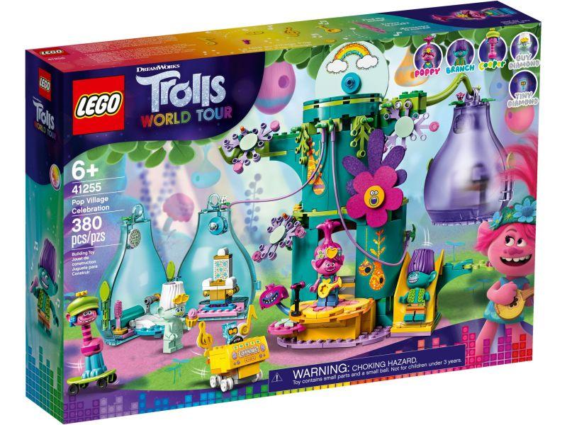 LEGO Trolls 41255 Feest in Trol Dorp
