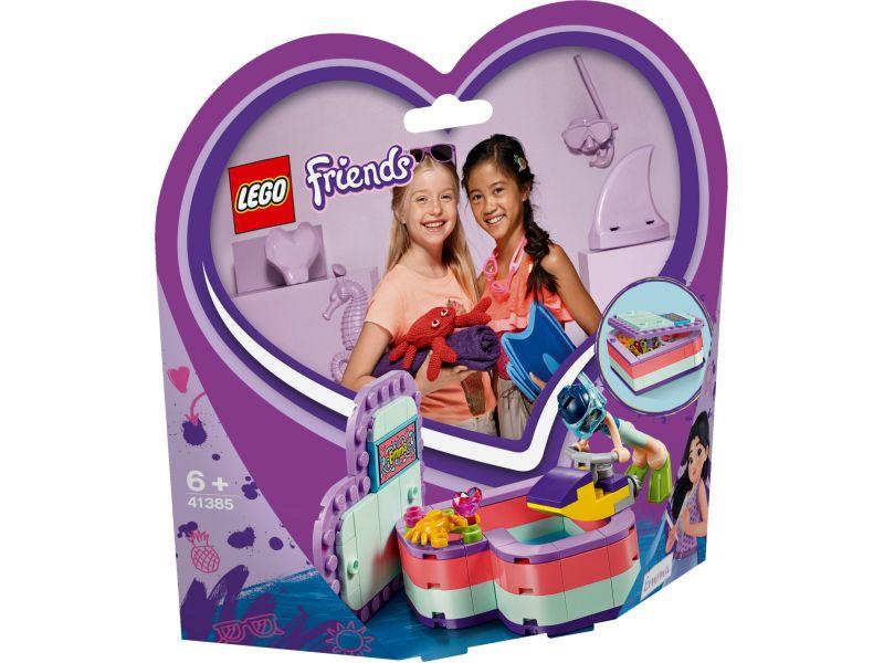 LEGo Friends 41385 Emma's hartvormige zomerdoos