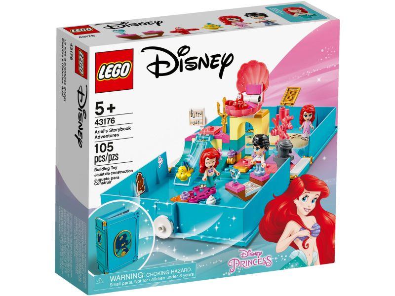 LEGO Disney 43176 Ariëls verhalenboekavonturen