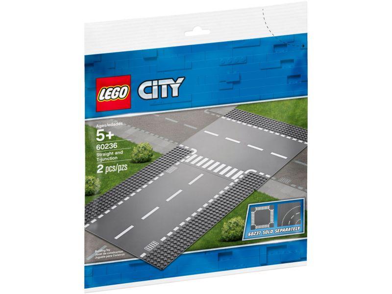 LEGO City 60236 Rechte en T-splitsing