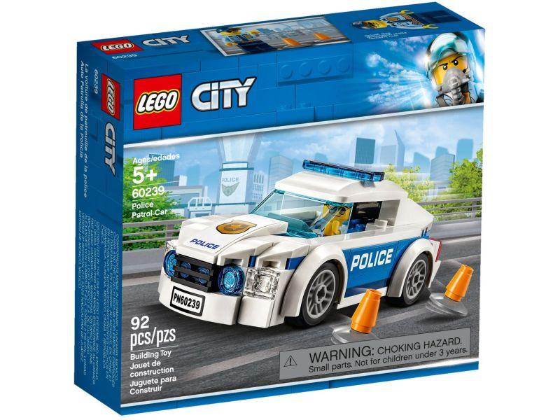 LEGO City 60239 Politiepatrouille auto