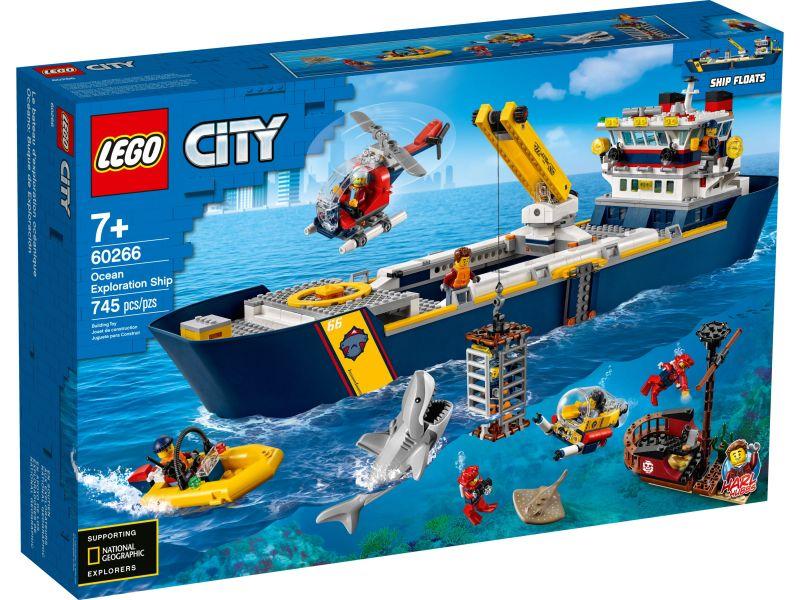LEGO City 60266 Oceaan Onderzoekschip