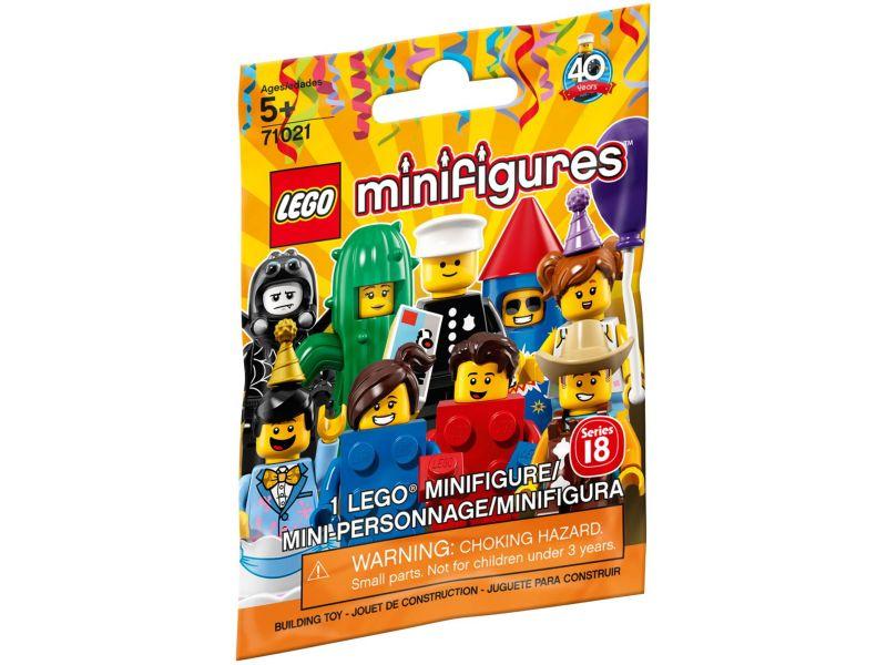 LEGO 71021 Zakje Minifigures Serie 18: Feestje