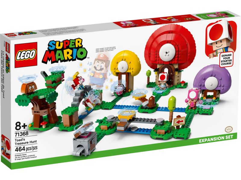 LEGO Super Mario 71368 Uitbreidingsset: Toads schattenjacht