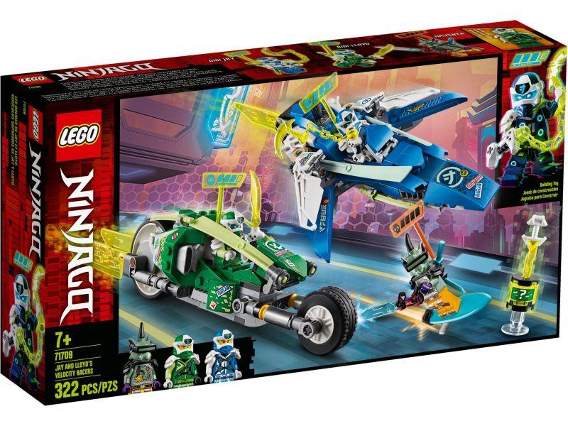 LEGO Ninjago 71709 Jay en Lloyd's supersnelle racers