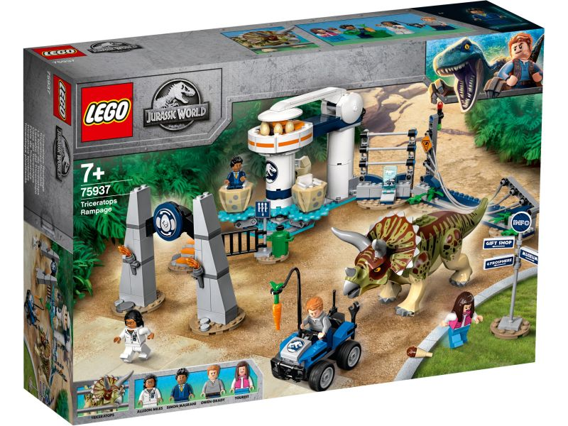 LEGO Jurassic World 75937 Triceratops Chaos
