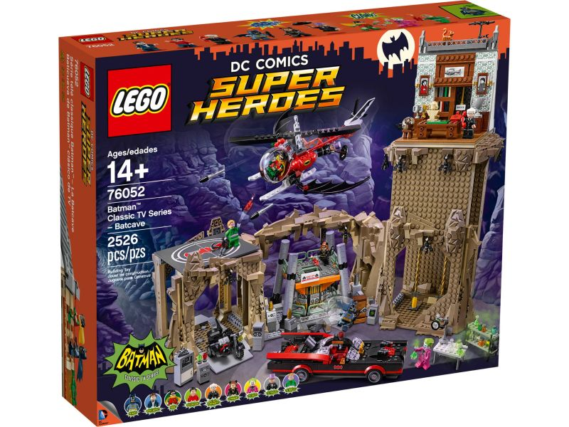 LEGO 76052 Batman Classic tv-serie – Batcave