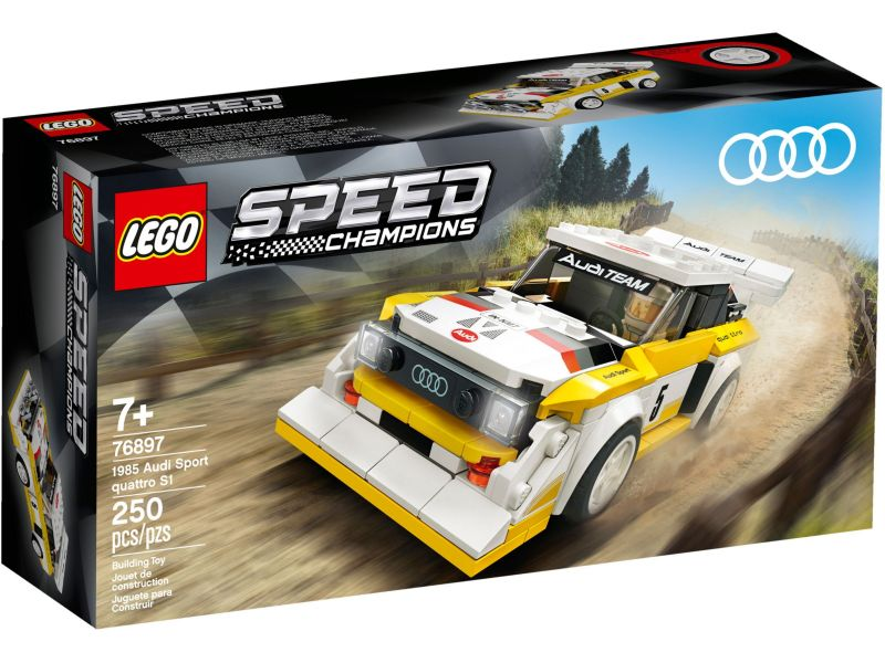 LEGO Speed Champions 76897 Audi Sport quattro 1985 S1