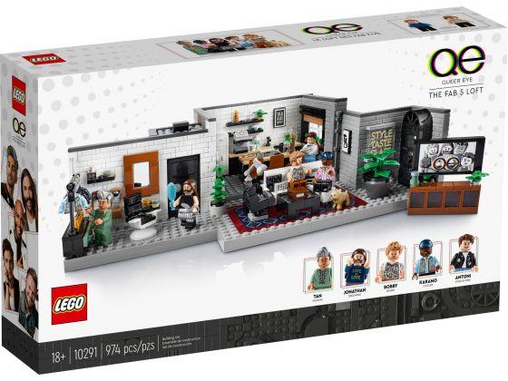 LEGO 10291 Queer Eye – De Fab 5 loft