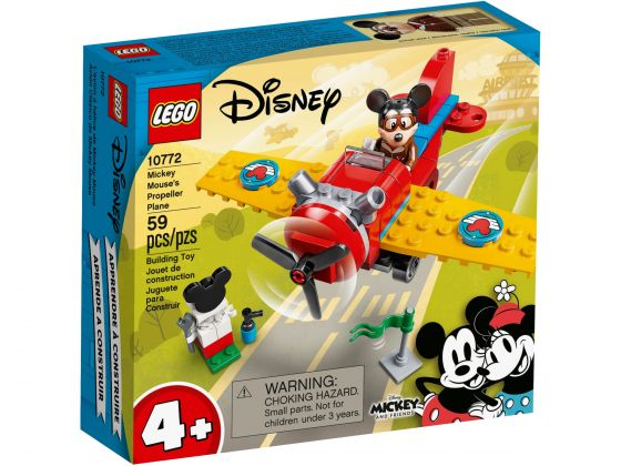 LEGO Disney 10772 Mickey Mouse propellervliegtuig