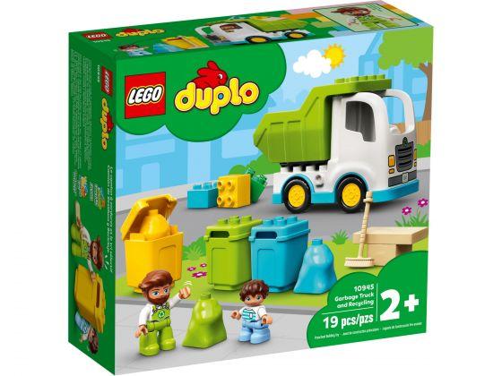 LEGO Duplo 10945 Vuilniswagen en recycling