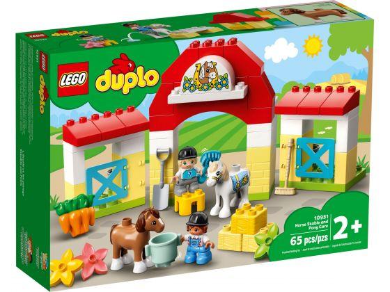 LEGO Duplo 10951 Paardenstal en pony's verzorgen