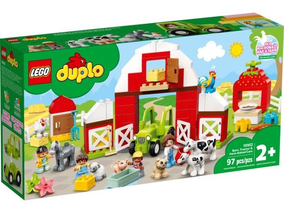 LEGO Duplo 10952 Schuur, tractor & boerderijdieren verzorgen