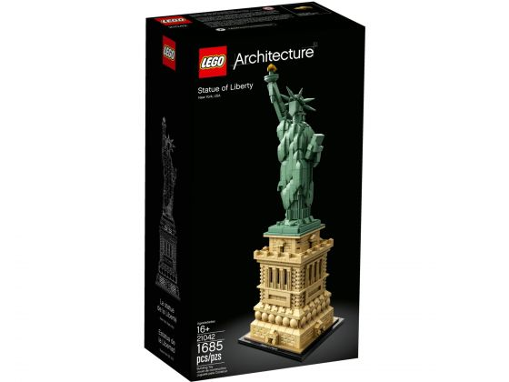 LEGO Architecture 21042 Vrijheidsbeeld