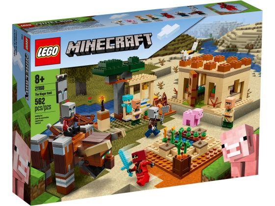 LEGO Minecraft 21160 De Illager overval