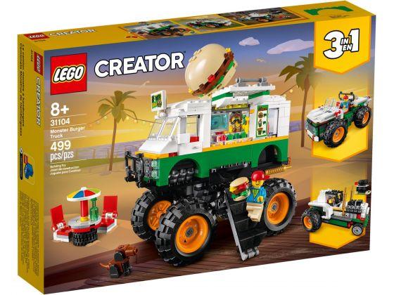 LEGO Creator 31104 Hamburger Monstertruck
