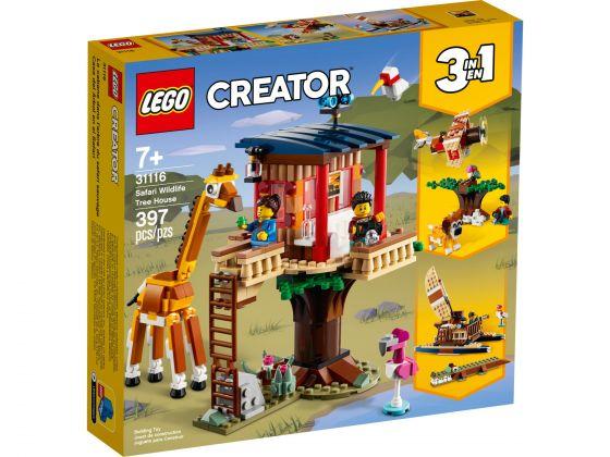 LEGO Creator 31116 Safari wilde dieren boomhuis