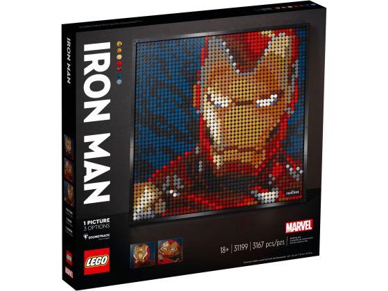 LEGO Art 31199 Marvel Studios Iron Man