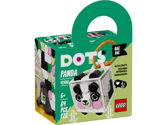 LEGO Dots 41930 Tassenhanger panda