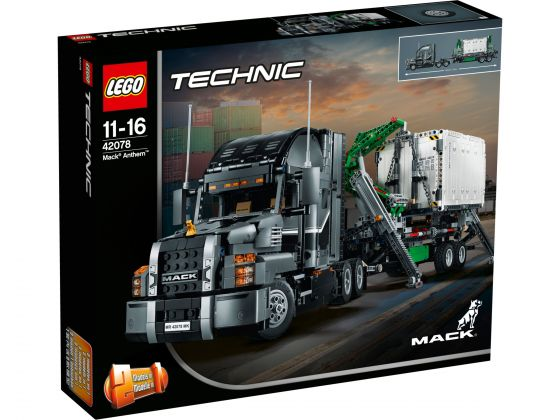 LEGO Technic 42078 Mack Truck