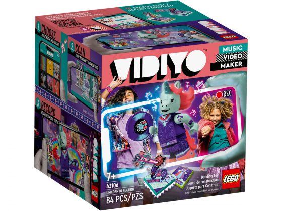 LEGO VIDIYO 43106 Unicorn DJ BeatBox