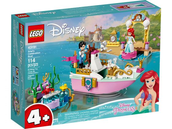 LEGO Disney 43191 Ariels feestboot