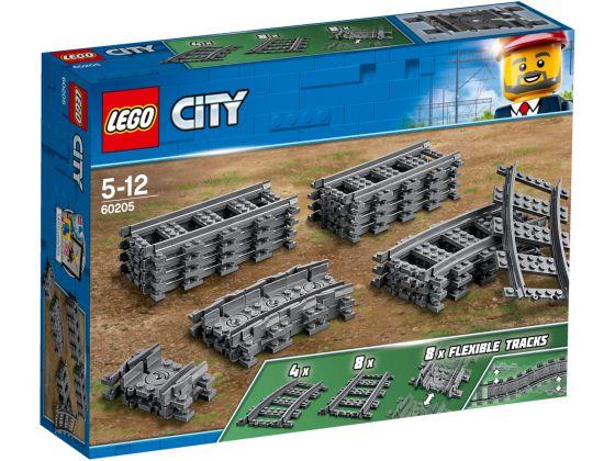 LEGO City 60205 Rechte en gebogen rails