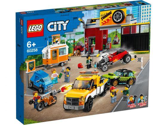 LEGO City 60258 Tuning workshop