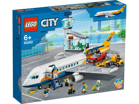 LEGO City 60262 Passagiers vliegtuig