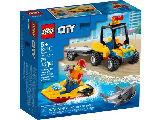 LEGO City 60286 ATV strandredding