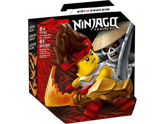 LEGO Ninjago 71730 Epische Strijd set - Kai tegen Skulkin