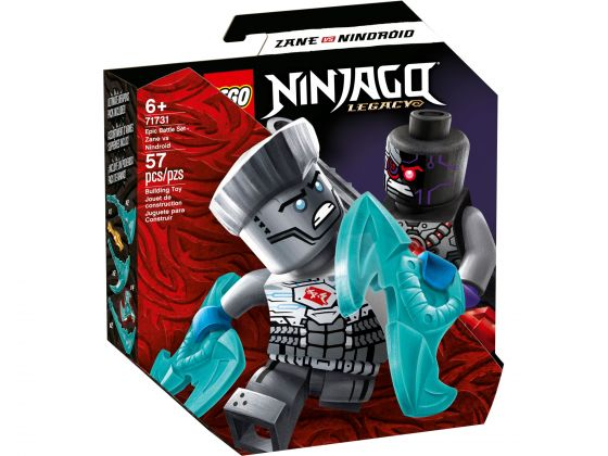 LEGO Ninjago 71731 Epische Strijd set - Zane tegen Nindroid