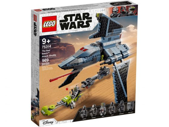 LEGO Star Wars 75314 The Bad Batch aanvalsshuttle