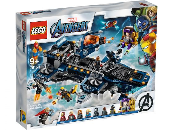 LEGO Super Heroes 76153 Avengers Helicarrier