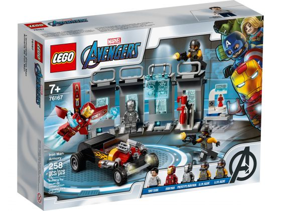 LEGO Super Heroes 76167 Iron Man Wapenkamer