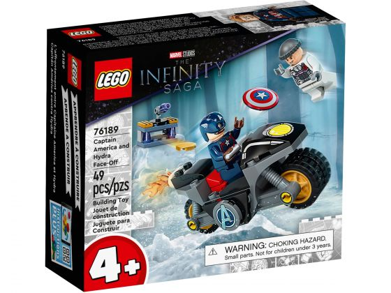 LEGO Super Heroes 76189 Captain America - Hydra confrontatie