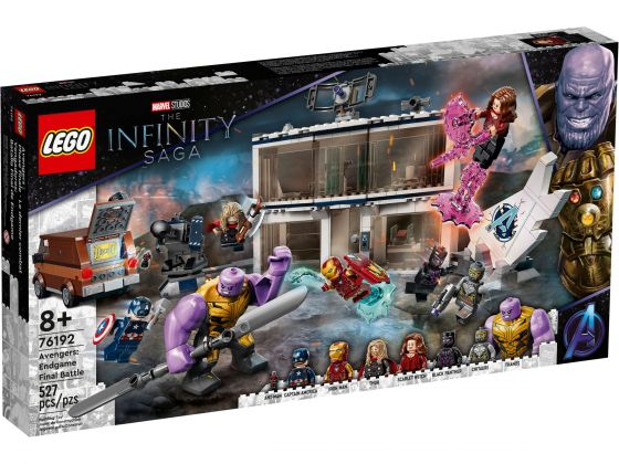 LEGO Super Heroes 76192 Avengers: Endgame Final Battle