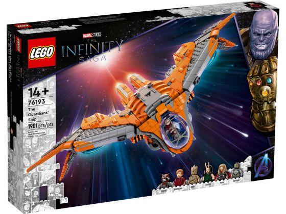 LEGO Super Heroes 76193 Het schip van de Guardians
